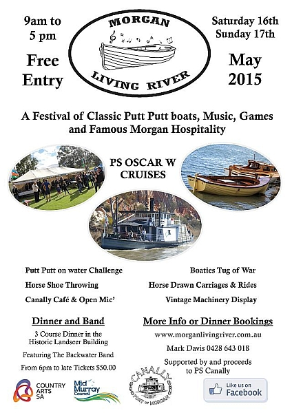 Morgan Living River 2015 poster